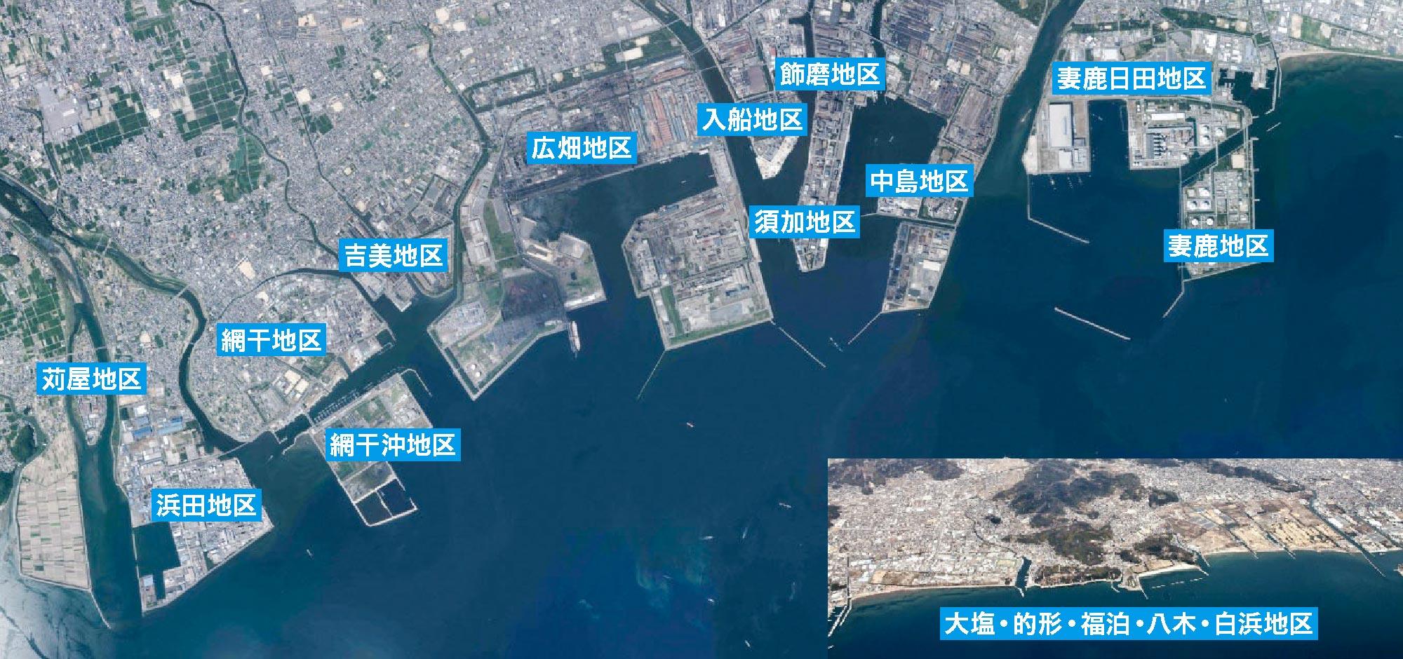 姫路港全景